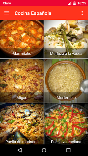 Cocina Española 1