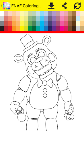 Coloring Book Five Nights 1