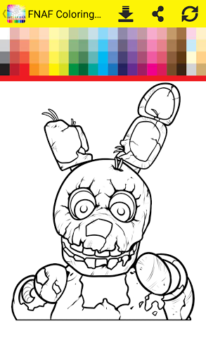 Coloring Book Five Nights 3
