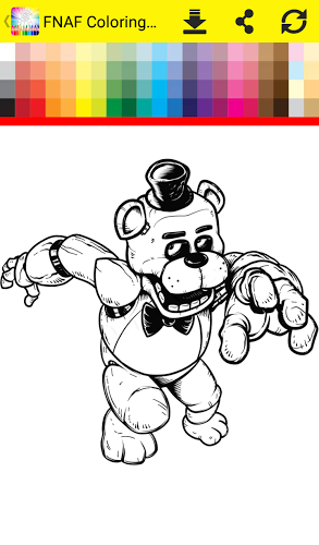 Coloring Book Five Nights 4