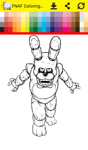 Coloring Book Five Nights 5