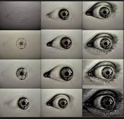 Cómo dibujar el ojo 2
