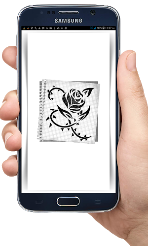 Cómo dibujar Tatouage gratis 1