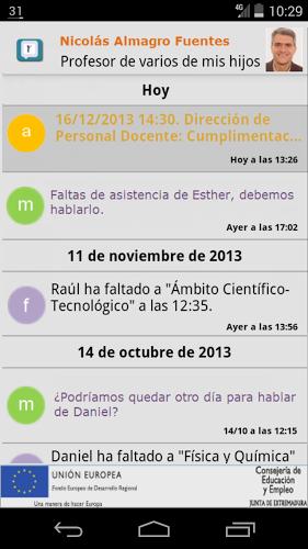 Comunicación Rayuela 1