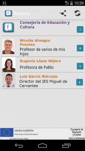 Comunicación Rayuela 3