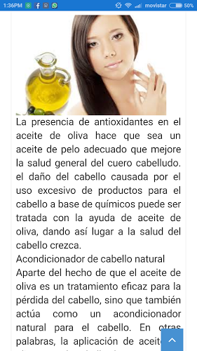 Crecer Cabello Aceite de Oliva 2