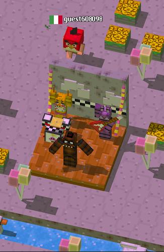 Crossy Creeper Multijugador: La Isla Marvel Online 3