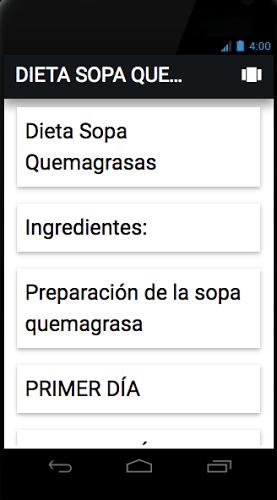 Dieta Sopa quema grasas 1