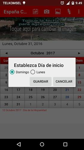 España Calendario 2017 3