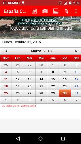 España Calendario 2017 5