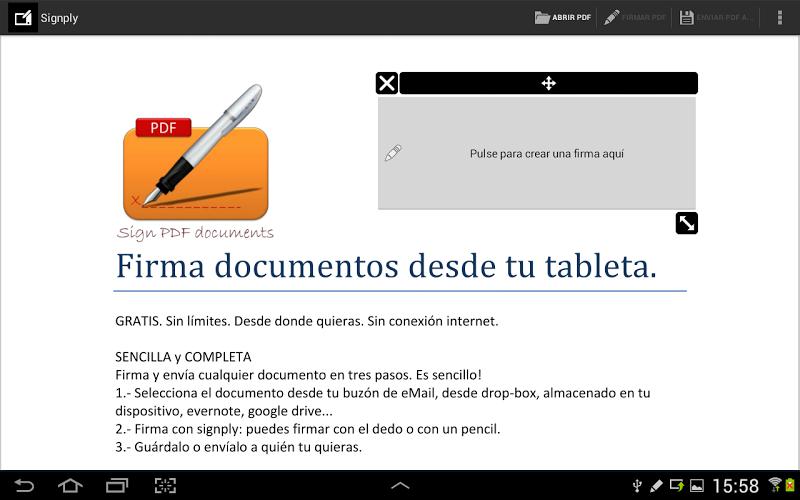 Firma digital manuscrita PDFs 3