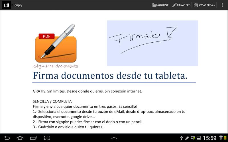 Firma digital manuscrita PDFs 4