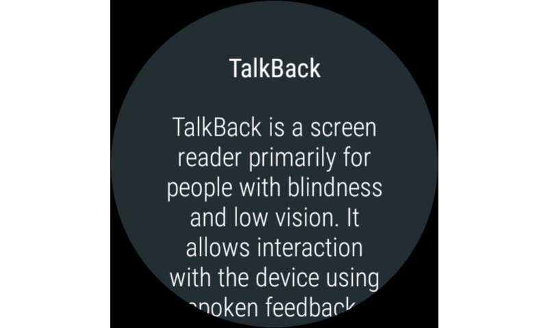 Google TalkBack 5
