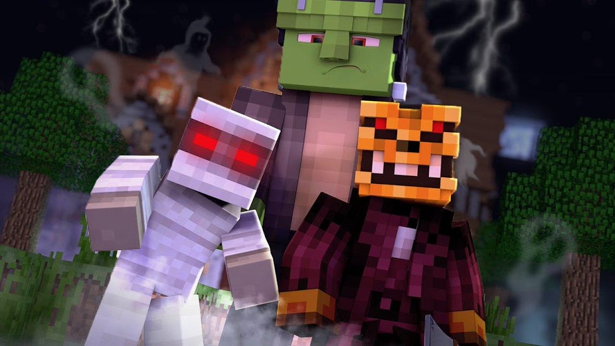 Horror Addons for Minecraft PE 3