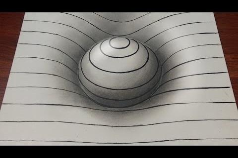 How to Draw 3D and Illusions 1