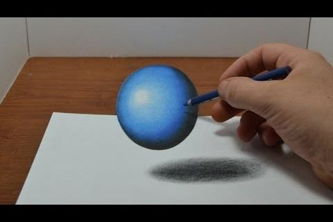 How to Draw 3D and Illusions 3