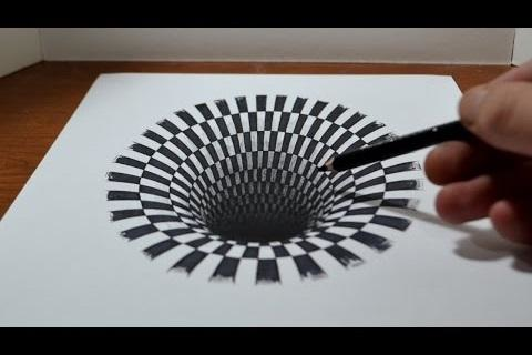 How to Draw 3D and Illusions 5