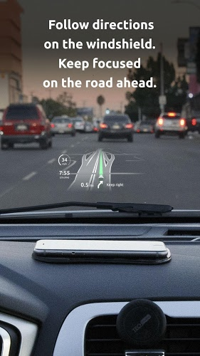 HUDWAY Go — GPS Navigation & Maps with HUD 2