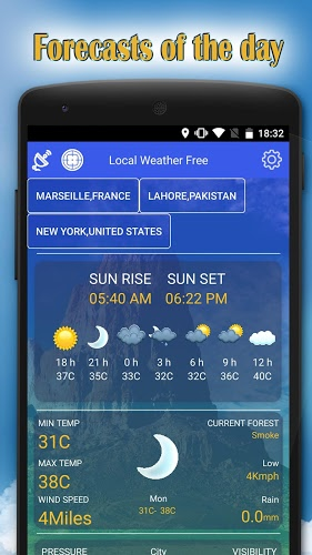 Local weather free – clima 1