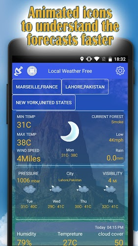 Local weather free – clima 2