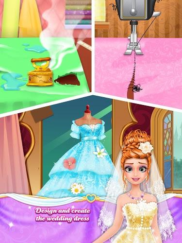 Long Hair Princess Wedding 3