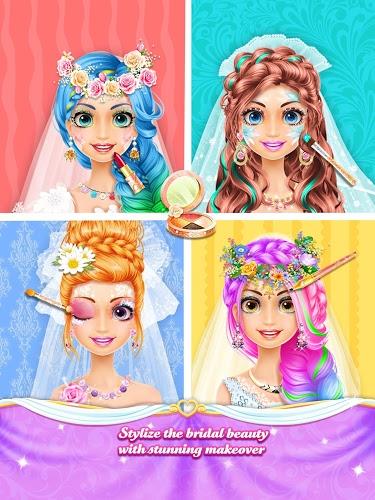 Long Hair Princess Wedding 4
