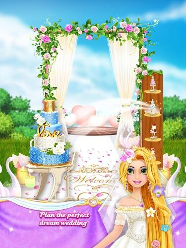 Long Hair Princess Wedding 5