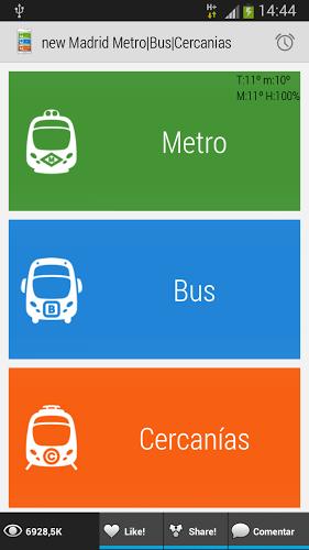 Madrid Metro|Bus|Cercanias 1
