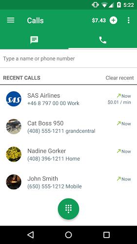 Marcador de Hangouts: llamadas 4