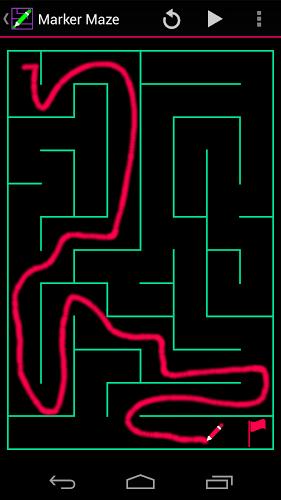 Marker Maze 1