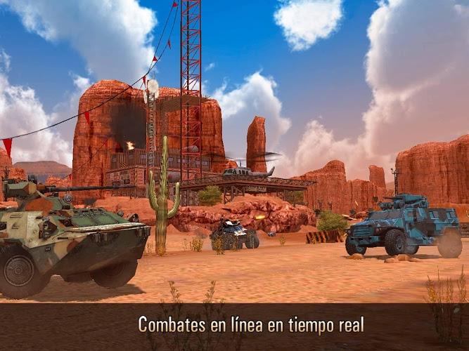 Metal Force: Juego de tanques 1