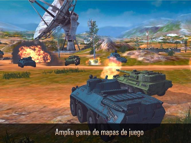 Metal Force: Juego de tanques 3