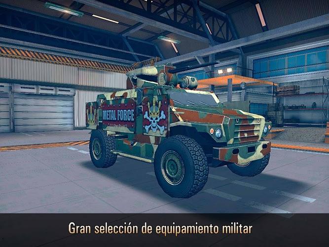 Metal Force: Juego de tanques 4