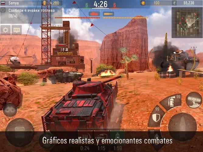 Metal Force: Juego de tanques 5