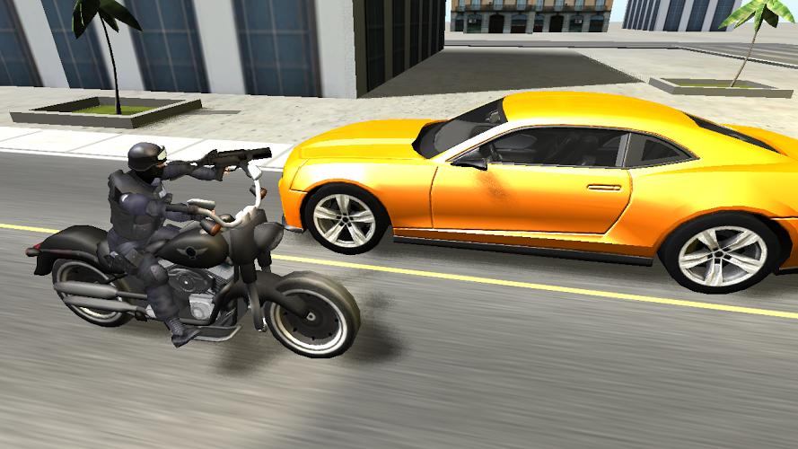 Moto de combate en 3D 1