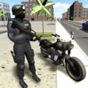 Moto de combate en 3D