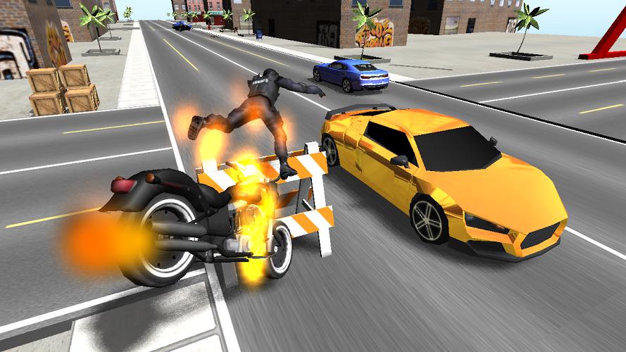 Moto de combate en 3D 2