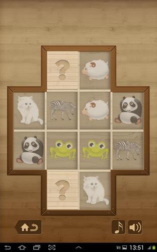 Niños juego de memoria -Animal 3