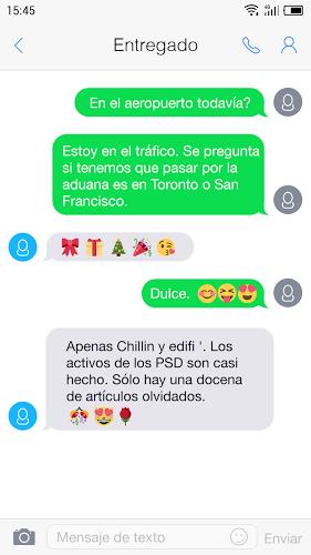 One Message 7 – Emoji, Flat 5