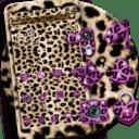 Oro leopard guepardo Tema