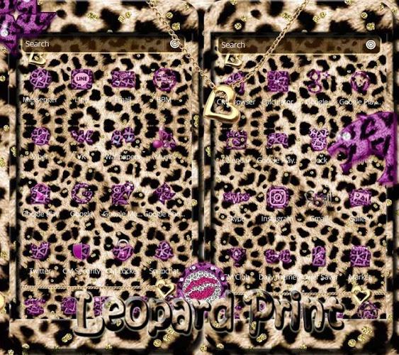 Oro leopard guepardo Tema 2