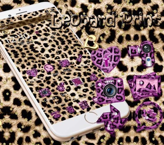 Oro leopard guepardo Tema 4