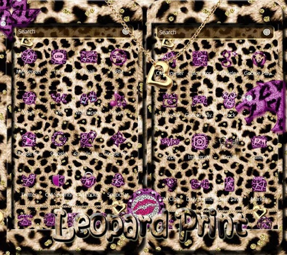 Oro leopard guepardo Tema 5