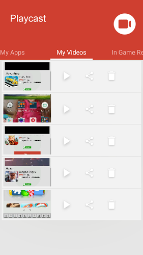 PlayCast Game Screen Recorder 3