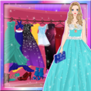 Princesa prom real de vestir