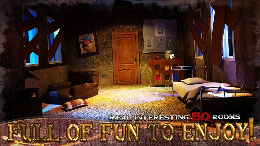 Puedes escapar de la habitación 100 I 3