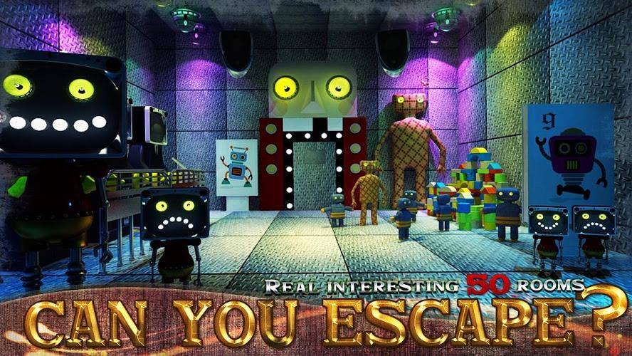 Puedes escapar de la habitación 100 I 4