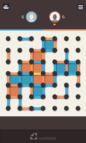 Puntos y cajas – Juego de estrategia clásico 1