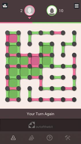 Puntos y cajas – Juego de estrategia clásico 2