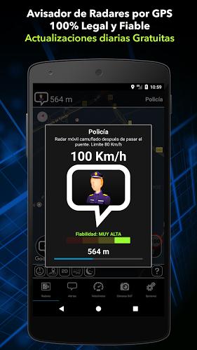 Radarbot: Avisador de Radares Gratis y Velocímetro 1